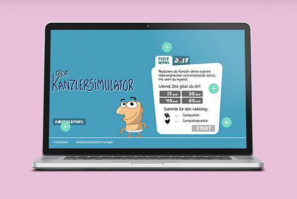 Kanzlersimulator – ein Online Computerspiel