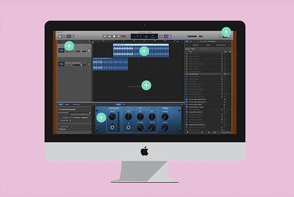 Musikstücke digital spielen und arrangieren – mit Garageband